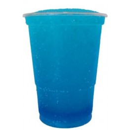 Blå slushice saft