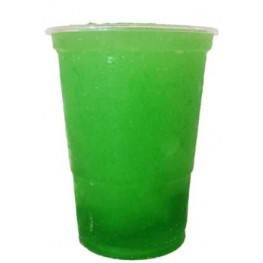 Grøn slushice saft