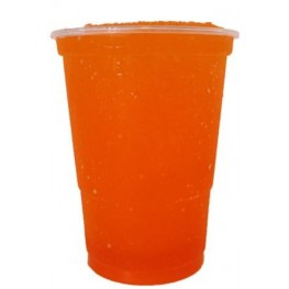 Orange slushice saft