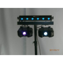 Disco lys 2 - kun m. leje af karaokeanlæg
