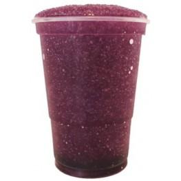 Purple slushice saft